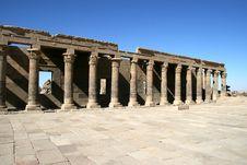 Free Temple Of Philae. Stock Photo - 4092240