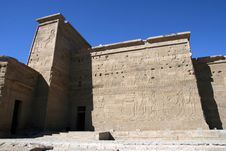 Free Temple Of Philae. Stock Photography - 4092242