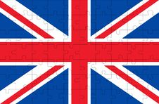 Free Flag Of United Kingdom Royalty Free Stock Photo - 4092255