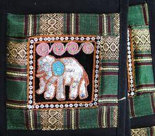Thai Handmade Craft. Royalty Free Stock Photo
