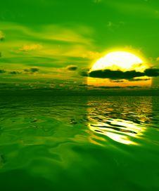 Free Sunset Stock Image - 4094461