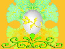 Free Easter Egg Design / Background Royalty Free Stock Photo - 4094545