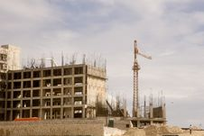 Free Steel And Concreate Construction Stock Image - 4094731