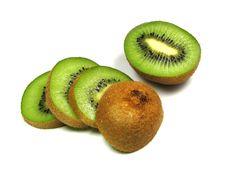 Free A Sliced Kiwi Stock Photos - 4094903