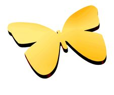 Free 3D Butterfly Stock Image - 4095241
