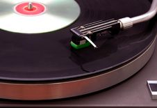 Free Record Player With CD Stock Photos - 4095273