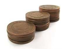 Free Money Coins Royalty Free Stock Photography - 4095307