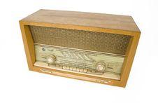 Free Old Radio. Royalty Free Stock Photos - 4095558