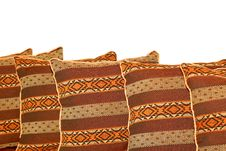 Free Indian Pillows Royalty Free Stock Image - 4096246