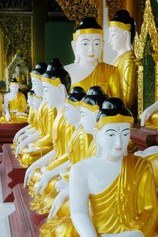 Free Buddha Statues Stock Photo - 4096260