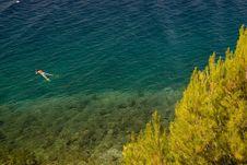 Free Croatian Sea Stock Image - 4096281