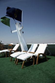 Free Hammocks In Cruise Stock Image - 4096381