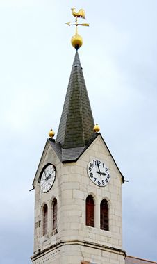 Free Old Clock Tower 4 Royalty Free Stock Images - 4096949
