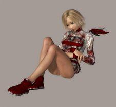 Free Cyber Girl Stock Image - 4097231