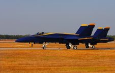 Free Blue Angels Royalty Free Stock Photo - 4098245