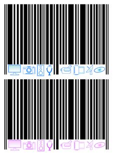Free Barcode And Multimedia Royalty Free Stock Image - 4098536