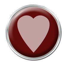 Free Button To Start Your Love Stock Photography - 4099982