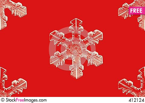 Free Ice Snowflakes Stock Images - 412124