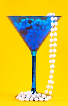Free Party Glass Royalty Free Stock Images - 411099