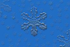 Free Big Snowflakes Stock Image - 412041