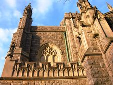 Free Church And Blue Skies Royalty Free Stock Photos - 413168
