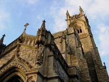 Free Looking Up At Church. Royalty Free Stock Images - 413189
