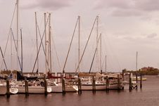 Free Sailboats Royalty Free Stock Photography - 414737