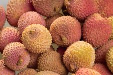 Tasty Litchi Royalty Free Stock Photography