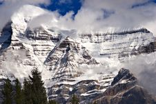 Free Snow On Mount Robson Stock Image - 416351
