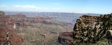 Free Grand Canyon Arch - Panoramic Royalty Free Stock Photos - 416638