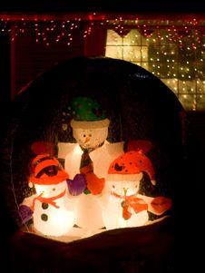 Free Snowman Globe Stock Photos - 416693
