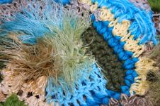 Freeform Crochet In Blue And Green