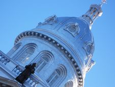 Free Dome Atop French University Stock Images - 418014