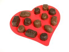 Free Chocolate Valentine Royalty Free Stock Photo - 418085