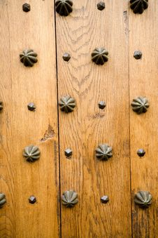 Free Close-up Of A Door Royalty Free Stock Photo - 418775