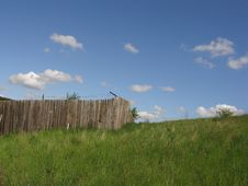 Free Farm Fence Royalty Free Stock Photo - 419045