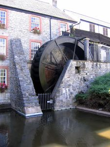 Free Old English Water Wheel Stock Photo - 419280