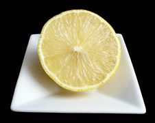 Free Half A Lemon Stock Photo - 419570