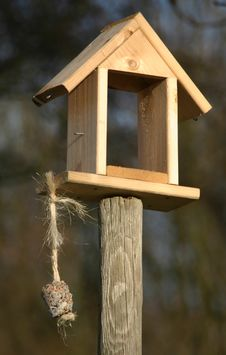Free Birdfeeder Royalty Free Stock Image - 419736