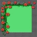 Free Spring Floral Frame Stock Images - 4102594