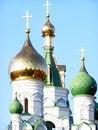 Free Church Domes Stock Image - 4108091