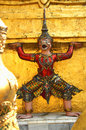 Free Buddhist Temple Keeper Statue Stock Photos - 4108863