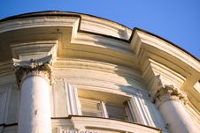 Fragment Of The Old Building Royalty Free Stock Photos