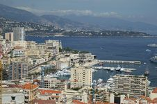 Free Monaco Coast Stock Image - 4101091