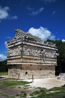 Free Ancient Mayan Nunnery Royalty Free Stock Photography - 4101837