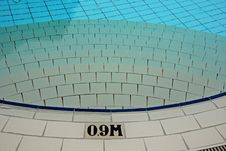 Free Swimming Pool And Marking In The Hotel Stock Photos - 4101883