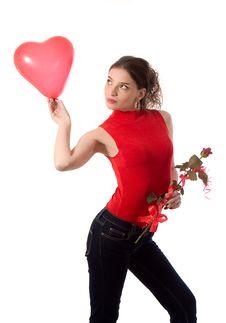 Free Valentine Girl Stock Images - 4102274