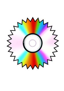 Free Sun Shape Cd Stock Photos - 4103323