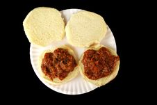 Free Barbecue Beef Sandwiches 1 Royalty Free Stock Photo - 4103475