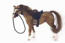 Free Plastic Brown Toy Horse Stock Images - 4103514